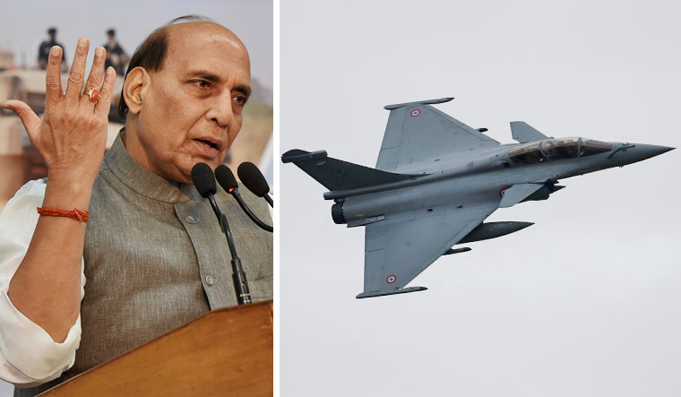 Defence Minister Rajnath Singh to receive first of 36 Rafale aircraft today