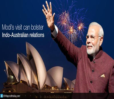 Modi urges Indians in Australia to invest back home