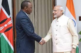 Modi to meet Kenyan President Uhuru Kenyatta today