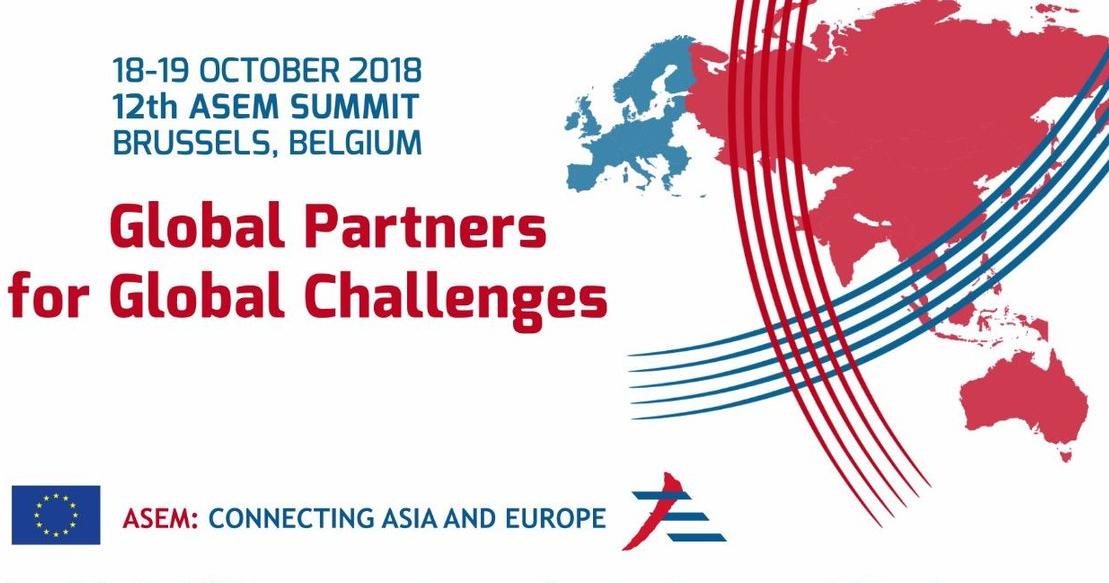 12th Asia-Europe meeting (ASEM) summit begins today