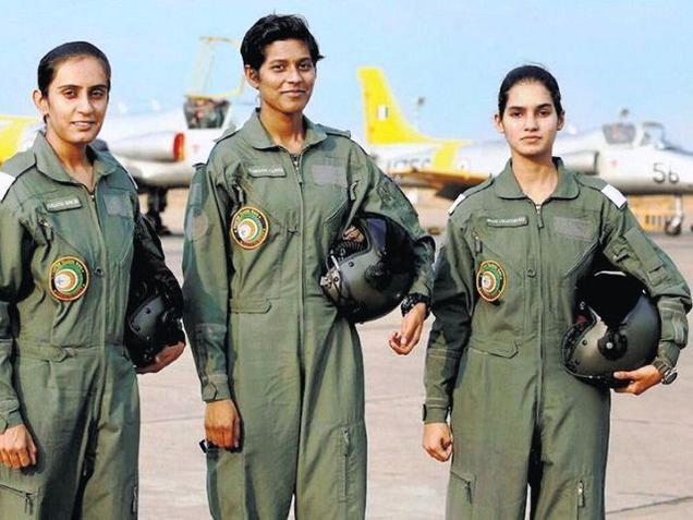firstbatchofwomenfighterpilotsinductedintoiaf