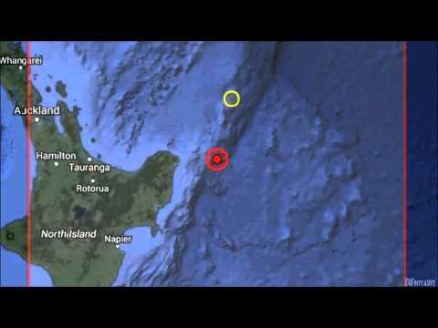 Earthquake jolts New Zealand