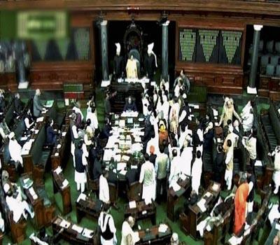 disruptionsinparliament:govtblamessoniarahul