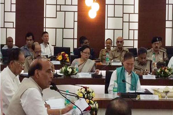 Top Security intelligence  Meet with  Home Minister