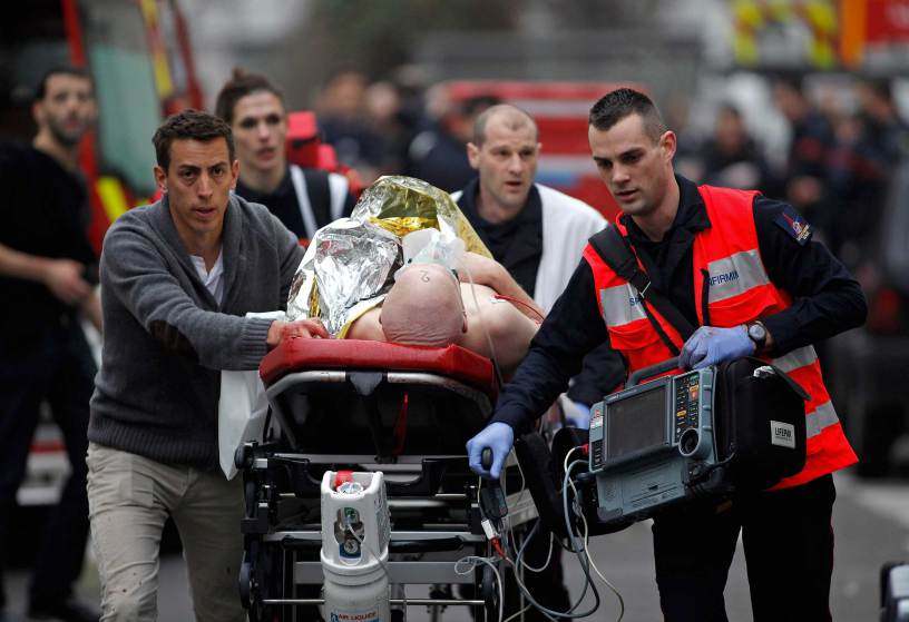Charlie Hebdo attack: Youngest suspect surrenders