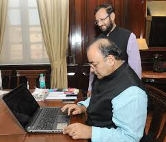 Arun Jaitley takes charge as Information & Broadcasting minister