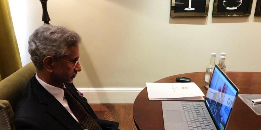 eamsjaishankarvirtuallyparticipatesing7foreignministersmeeting