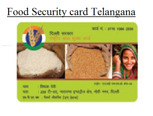 Food security cards to all eligible persons by April