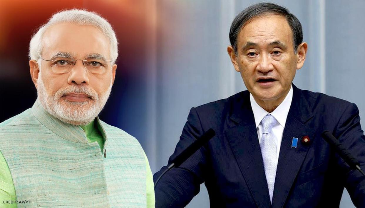 PM Modi, PM Japan Suga agree to further strengthen Indo-Japan relationship