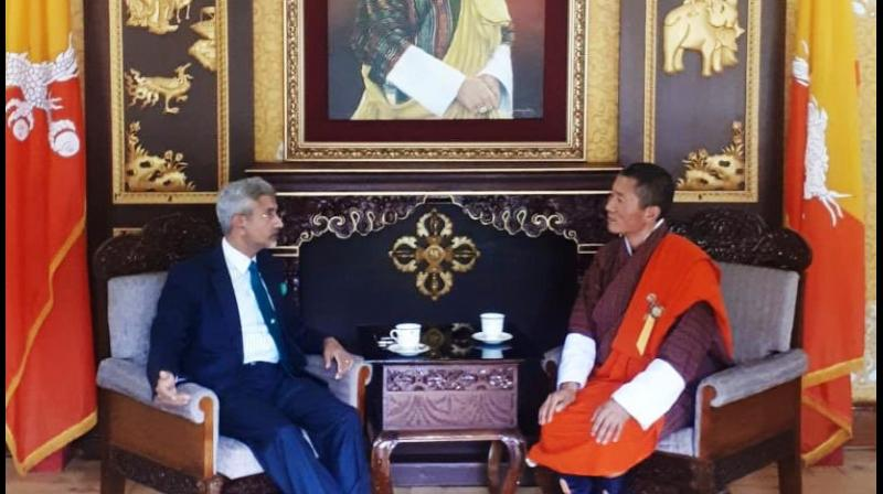 S Jaishankar discusses key elements of ties with Bhutan