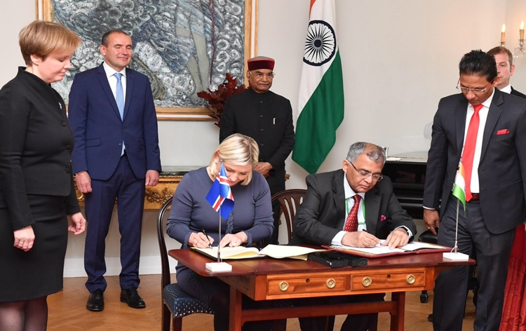 India, Iceland sign agreements
