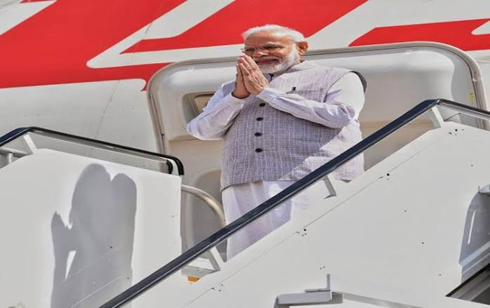 PM Modi arrives in New York, to address UNGA after his visit to Houston