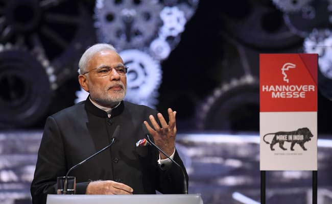 PM Modi woos German Investors