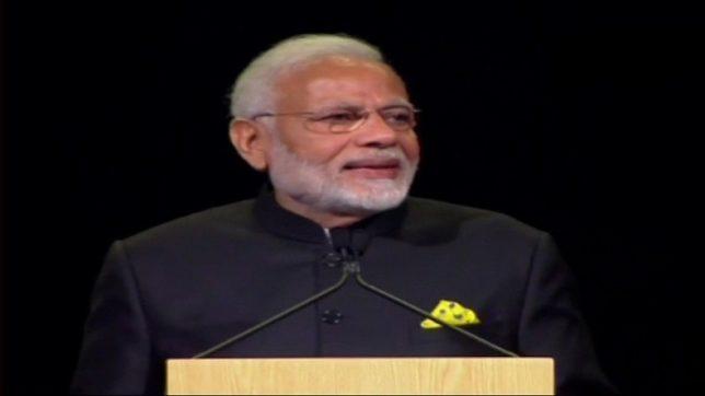 PM Modi addresses world