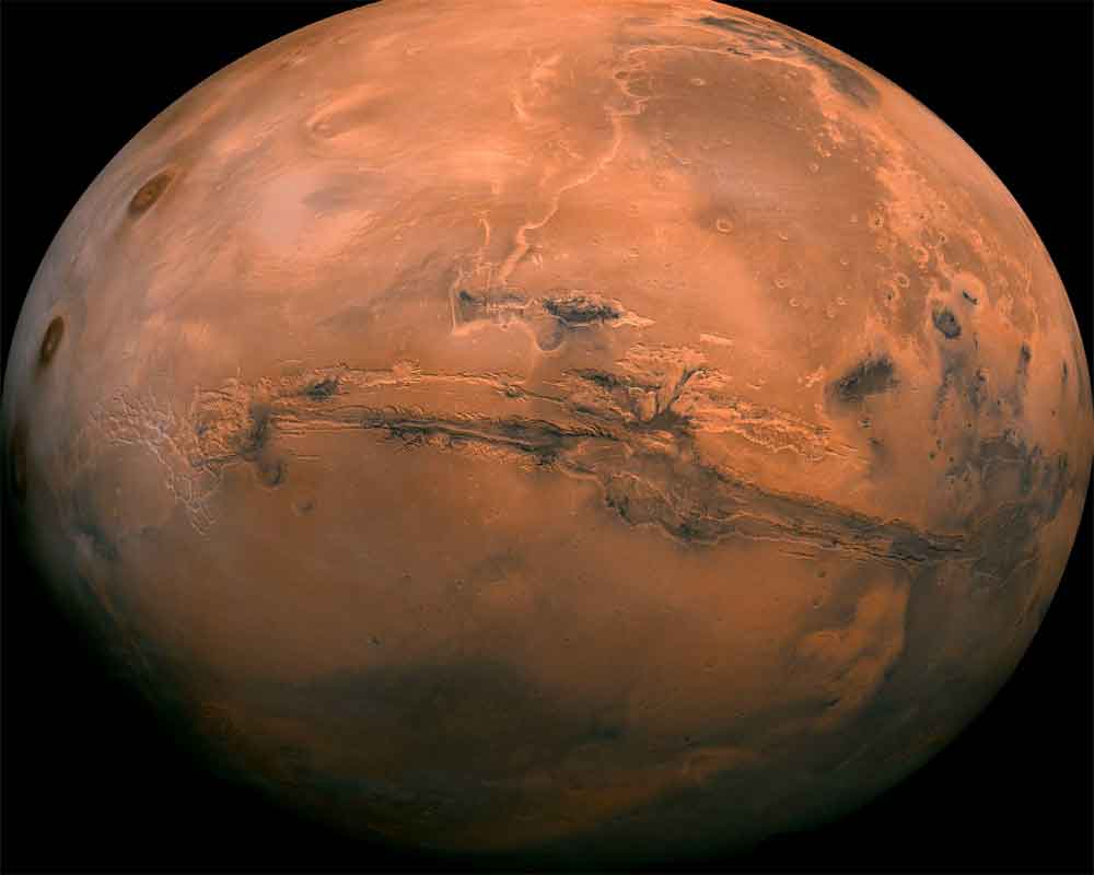Groundwater system still exists on Mars: Study