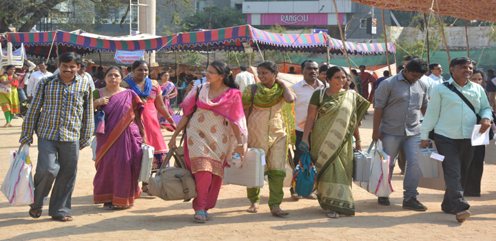 GHMC all set for polls today