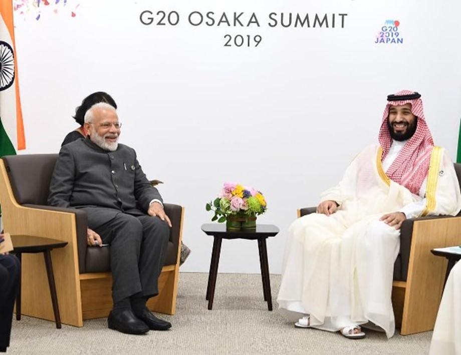 PM Modi meets Saudi Prince Salman in Osaka