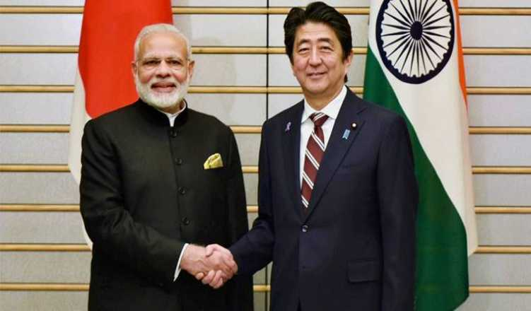 Modi holds talk with Japanese PM Abe in Osaka