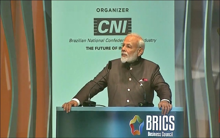 PM Modi calls upon business leaders from BRICS nations to invest in India