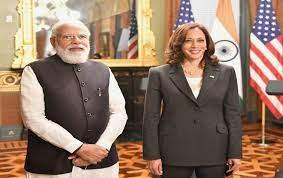 PM Modi meets US Vice President Kamala Harris in Washington DC