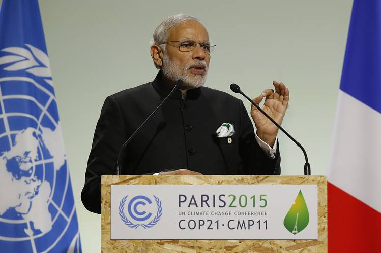 India to ratify Paris Agreement on climate change on Oct 2