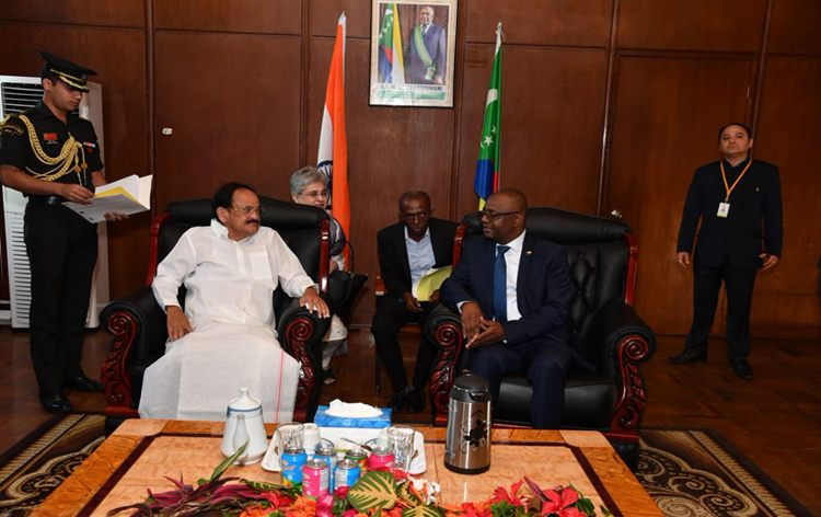 India extends over 60 million dollar line of credit to Comoros