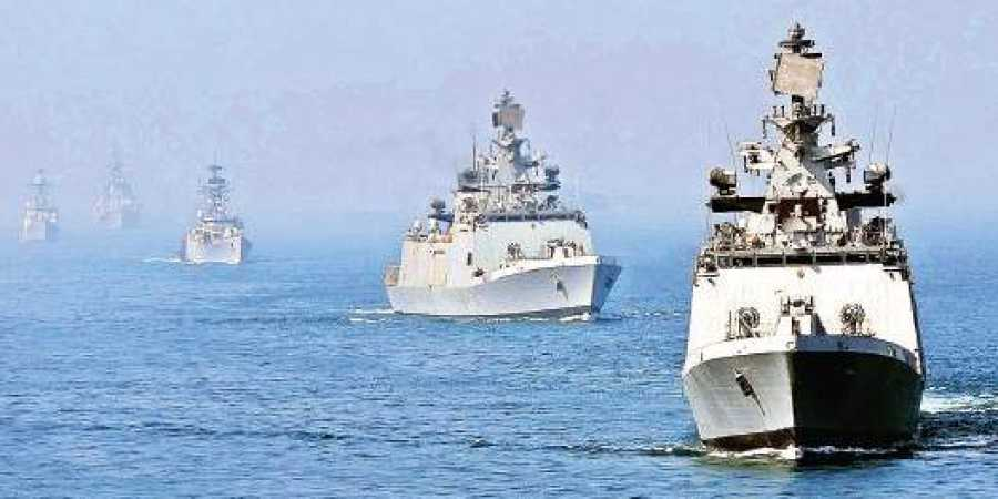 India-Singapore Naval drill begins in South China Sea