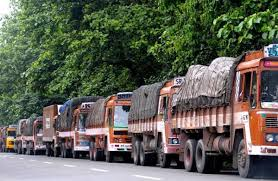 Nationwide truck strike from October 1