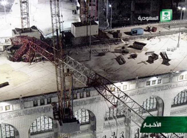 Number of Indians dead in Mecca crane mishap rises to 11