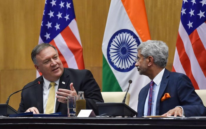 EAM, US secretary discuss Coronavirus crisis on Phone