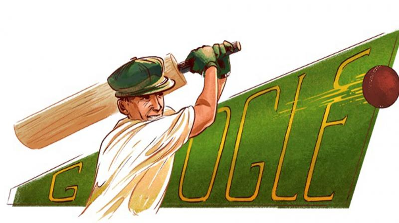Google doodle pays tribute to Sir Donald Bradman on 110th birth anniversary
