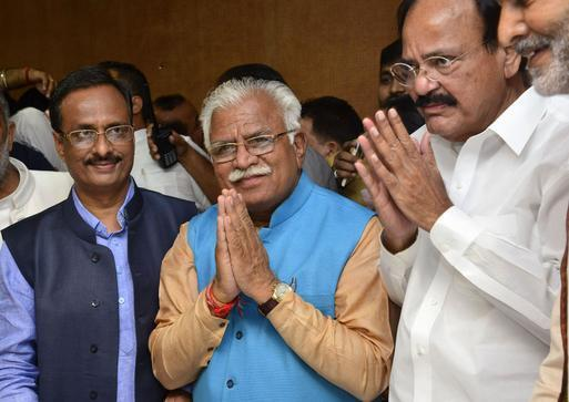 Khattar to head first BJP Chief Minister in Haryana