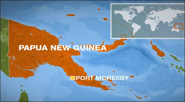 Strong earthquake rocks Papua New Guinea