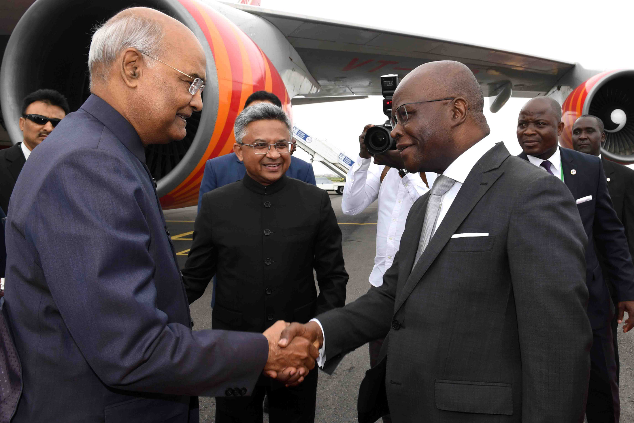 President Kovind to hold talks with Beninese counterpart Patrice Talon in Cotonou