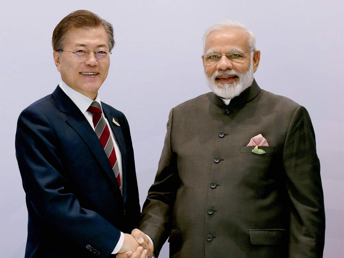 PM Modi holds talks with South Korean President Moon Jae-In in Seoul