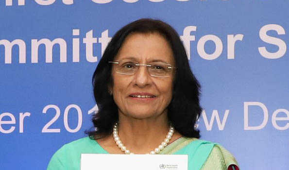 Dr.Poonam Singh unanimously nominated for 2nd term as Regional Director WHO South-East Asia