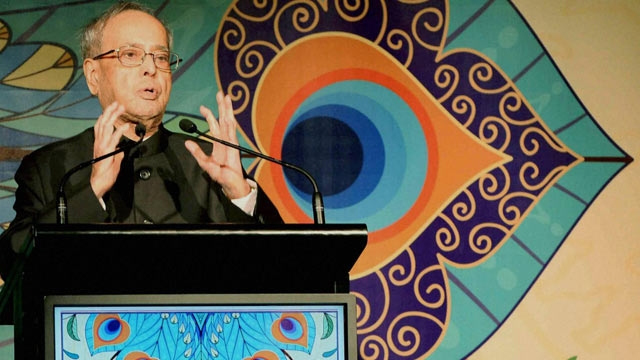 India needs growth rate of 9% to end poverty: Pranab Mukherjee