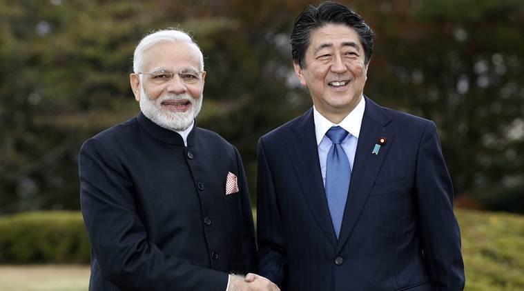 PM Modi holds informal talks with Japanese PM Shinzo Abe
