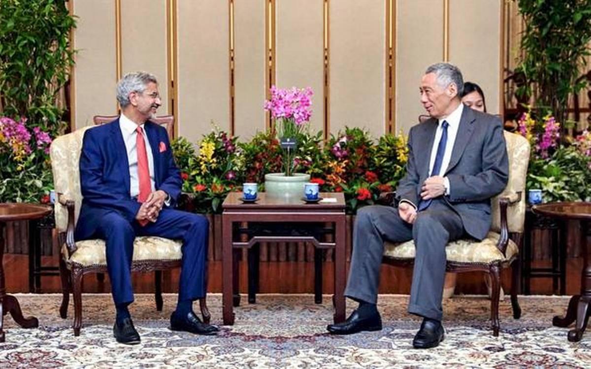 EAM S Jaishankar meets Singapore Deputy PM Heng Swee Keat