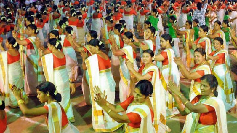 Over 6500 Kerala women dancers set Guinness World Record