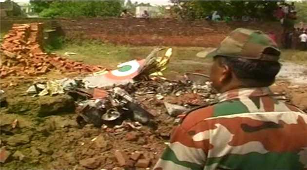 Jaguar fighter aircraft crashes near Allahabad