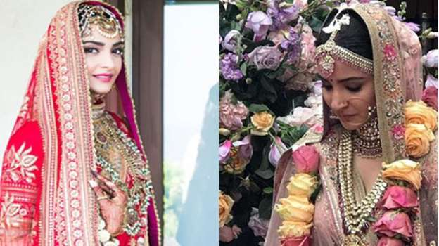Sonam or Anushka: Whose wedding look did you like better?