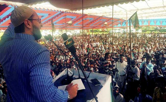Asaduddin Owaisi  criticises on Nitish-Lalu Grand Secular Alliance