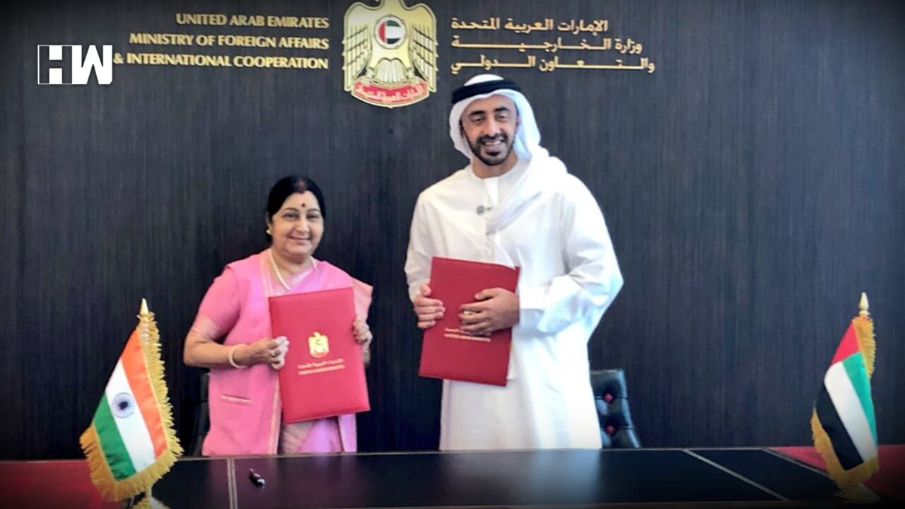 India, UAE sign two agreements, including one on currency swap