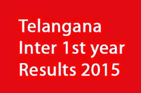 Telangana Inter 1st year results today