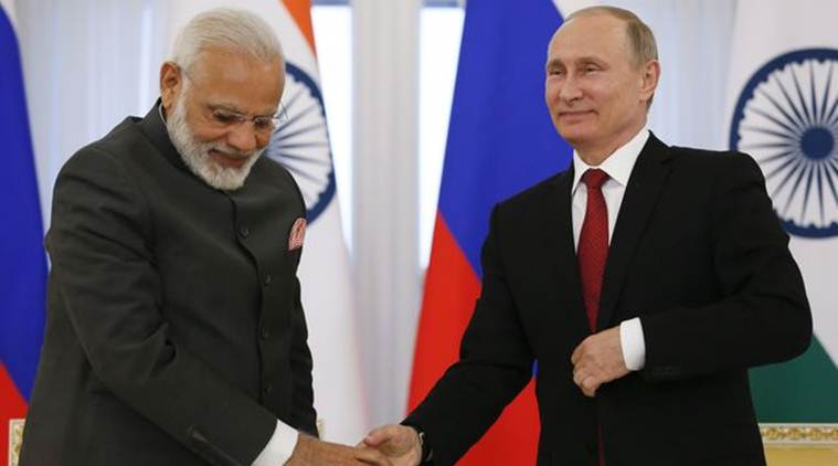 PM Narendra Modi and President Vladmir Putin reiterate their commitment to strengthen Indo-Russia strategic ties