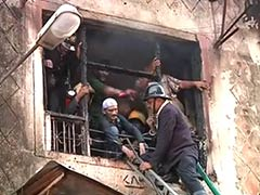 Fire breaks out at commercial complex in Mumbai