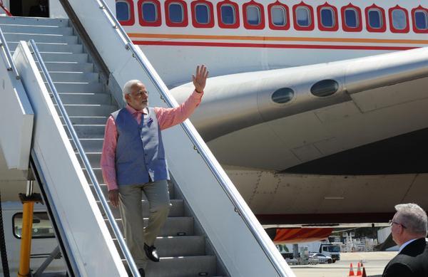 PM Modi arrives in Sydney