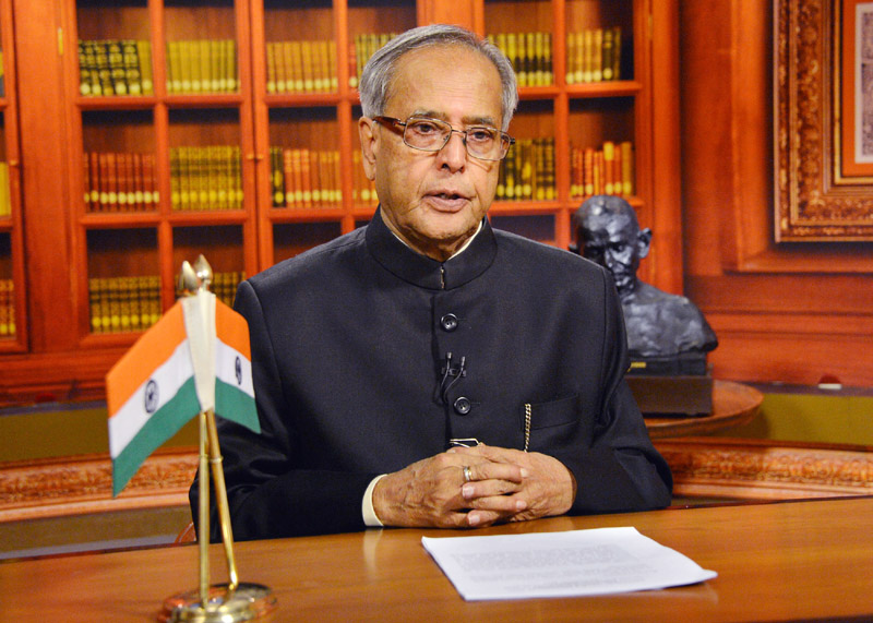 President Pranab Mukherjee to address nation today