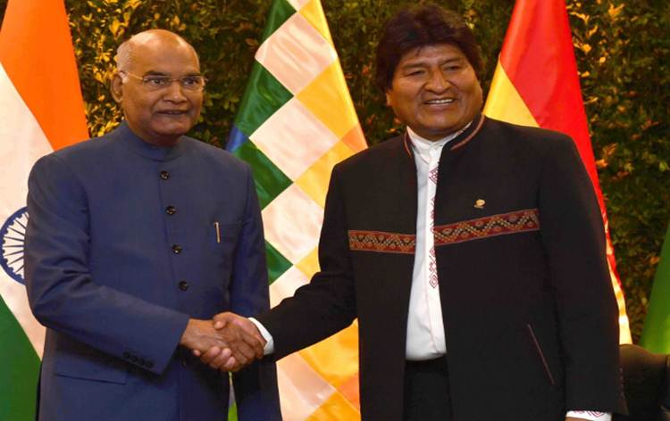 India & Bolivia sign 8 MoUs in various fields